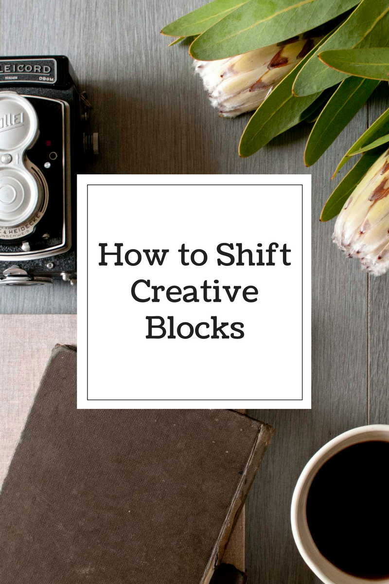 How to shift Creative Blocks