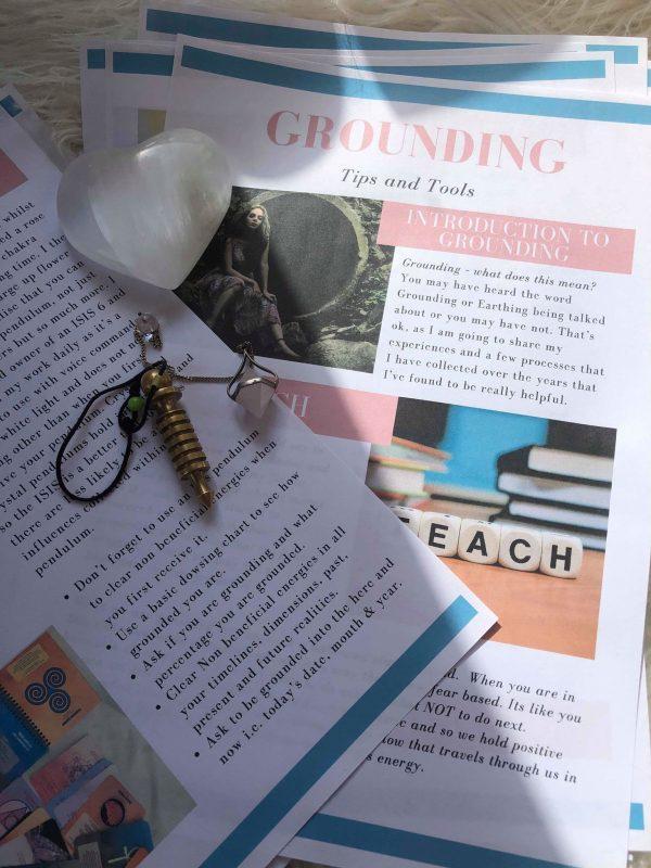 Rachel Allanach - Free Grounding Kit